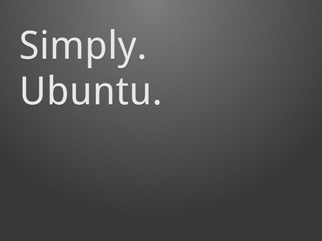 Simply. Ubuntu. Dark 1600x1200 by MrElemental
