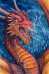 Unnamed dragon by xHideFromTheSunx