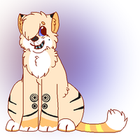 Cat Adoptable taken (Name your price) by Sicila