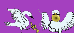 The Trumpet of the Swan by coolsarahkry