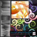 48 Illustrator (CS+) Brushes (some multi branched) by Hexe78