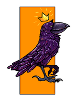 King Crow by rgyoung