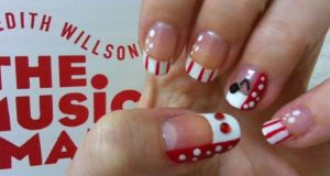 The Music Man Inspired Nail Art by MissDaniLips