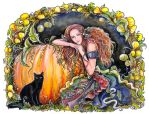 Pumpkin fairy by jankolas