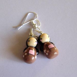J-Accs* Kokeshi_Doll_Earrings_by_janeybaby