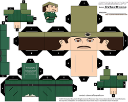 Cubee - The Brigadier 'Ver1' by CyberDrone