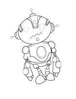 robot chibi by ALPHA11-11