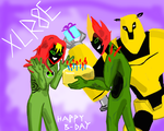 Happy B-day for XLR8E by Reinrassic-the-5th