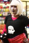 Homestuck Girl with Skull by coldestofflames