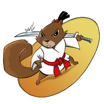 Sami the Samurai Squirrel by SamuraiScootah
