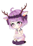COMM: Timid Deer (EmiKiwi) by Lolliwusel