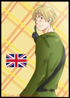 Hetalia - England by Fricoritto