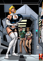 Susan Storm's Fantastic Breast Expansion by expansion-fan-comics