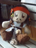 Captain Jack Sparrow Plushie by Plushbox