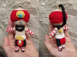 Amigurumi Lee Sin by natalianinomiya