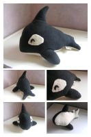 Plushie Orca by sparkycom