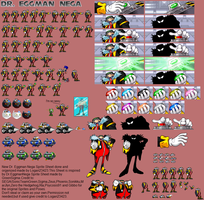 Dr Eggman Nega New Sheet-Done by Logan23423