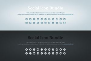 Social Icons by dannyknaack