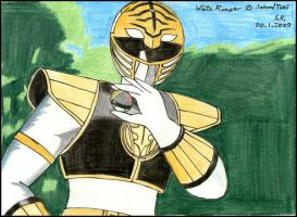 The White Ranger by Megamink1997