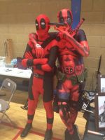Double Deadpool 'Wigan Comic-Con 24' by extraphotos