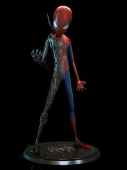 Spiderman materal test by alejit0