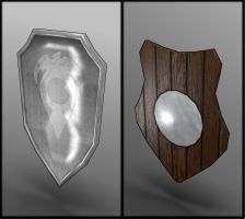 Lowpoly shields by contmike