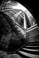 Stairway to Heaven BW by Bonvallet