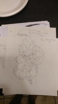 SSGSS Goku by SonicRings23