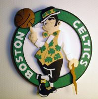 Boston Celtics by paperfetish