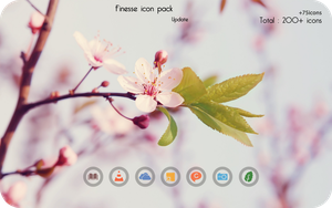 Finesse Icon Pack Update by aditya2611