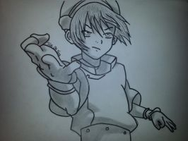 Toph Bei Fong by SkullKiddoo