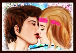 One kiss away by ar1anna