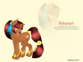 Kokonari profile -contest entry by ShyMemories
