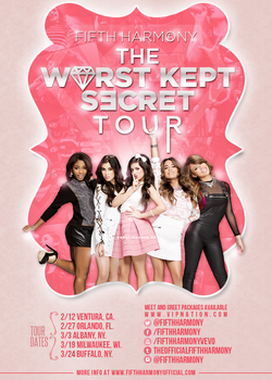 Fifth Harmony Poster .PSD by forgetandrun