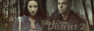 Hunger Games Cato and Clove by Leesa-M