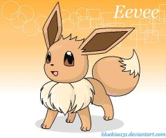 Eevee by Bluekiss131
