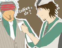 Coffee, Sir? -Crossover- by churien