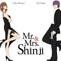 Mr. and Mrs. Shinji by NaokoMayumi