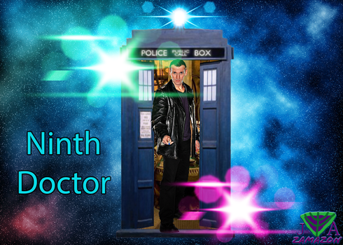 Ninth Doctor by vvjosephvv