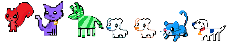 Iconicles (pokemon) sprites 1 by Aquanity505