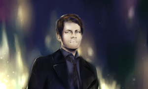Castiel Lights by LxLisaxchan