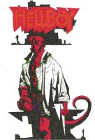 Hellboy by MatthewGrimp