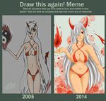 DRAW THIS AGAIN 2014//Look at it. Rly. Do it. by Shadako26