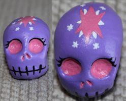 Twilight Sparkle Skull 70 by angelacapel