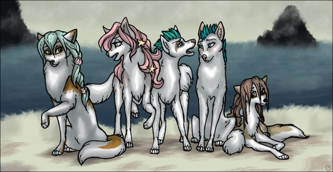 Children of the Sea by Kitsuness