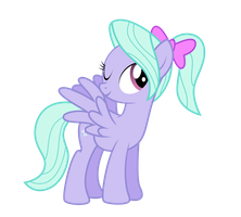Flitter with a ponytail by NortherntheStar