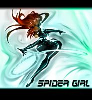 THE AMAZING SPIDER GIRL by WhiteFox89