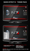 Mass Effect - N7 Theme Pack by smack1289