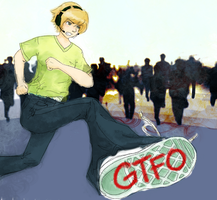RUN PEWDIE // GTFO ZOMBIES by fauxnatism