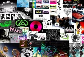 Music Collage by Photocentric-grl